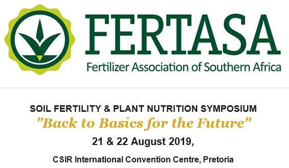 Soil Fertility & Plant Nutrition Symposium 2019